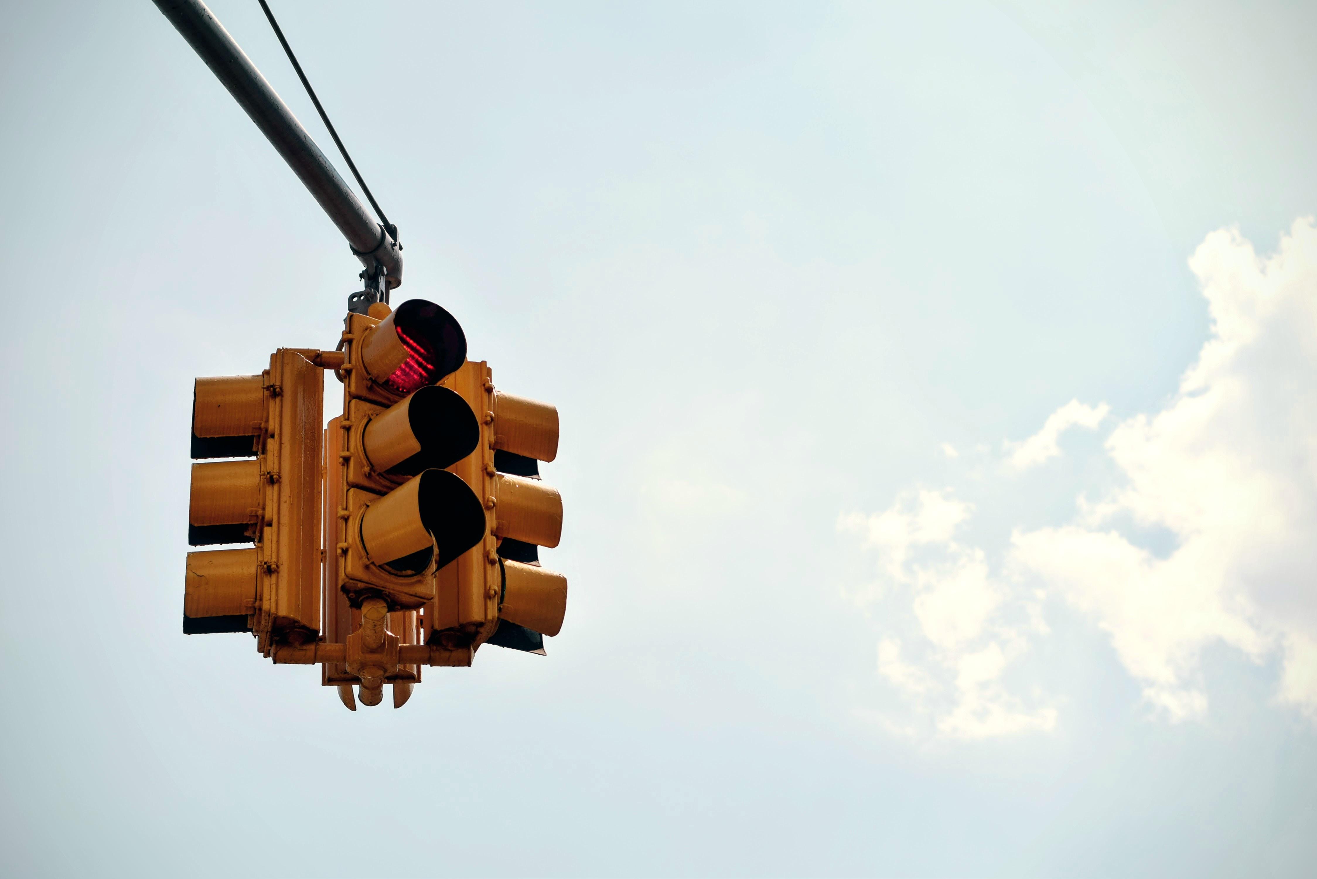 Carriera e semafori rossi